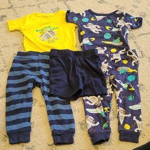 Carters Astronaut Pajamas